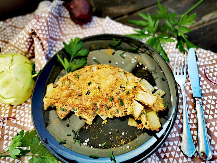 """Bauernfrühstück -""""falsche"""" Bratkartoffel"""