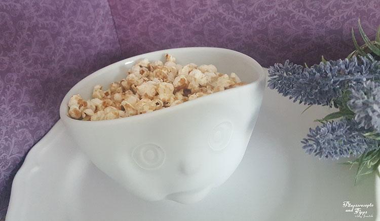 Zuckerfreies Popcorn – süß und kalorienarm