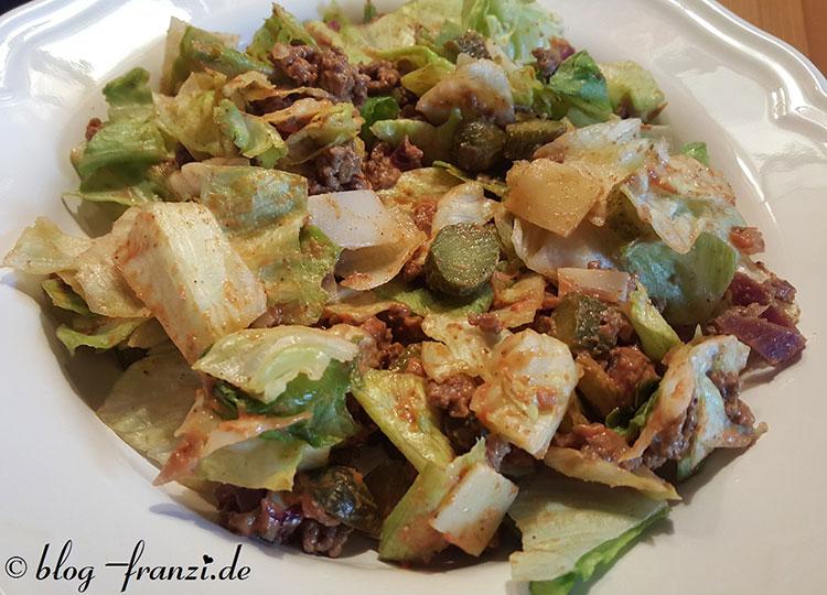 Gesunder Bic Mac Salat