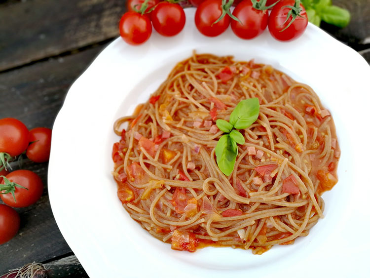 One Pot Spaghetti all´Arrabiata