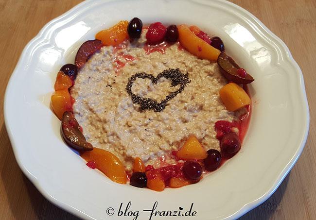 Porridge Winterfrüchte