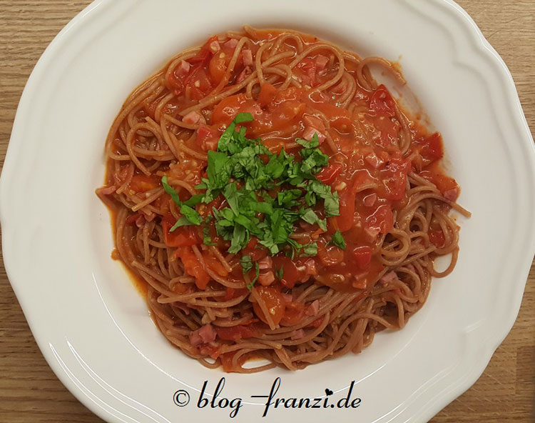 One Pot Spaghetti all´Arrabiata