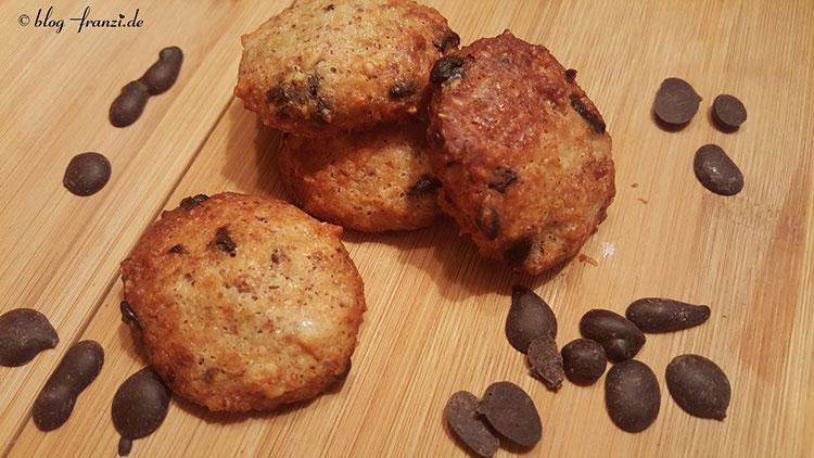 Schokoladencookies mit Spekulatius