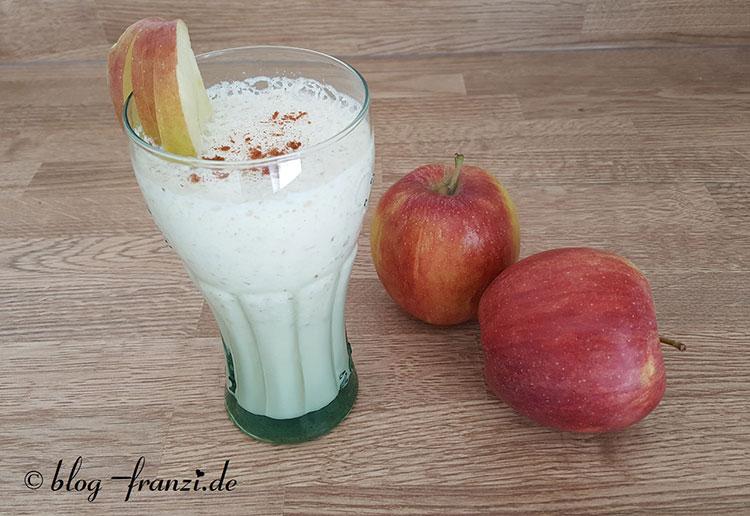 Apfel-Proteinshake