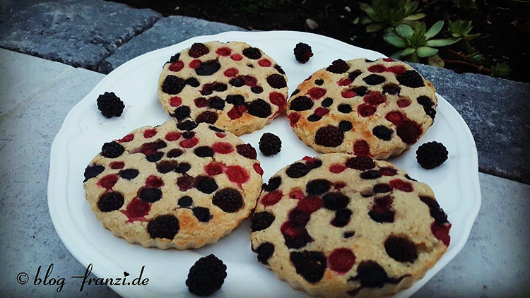 Frühstücks-Beeren-Cookie
