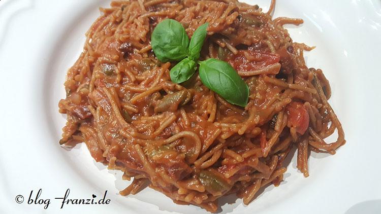 One Pot Italia Pasta