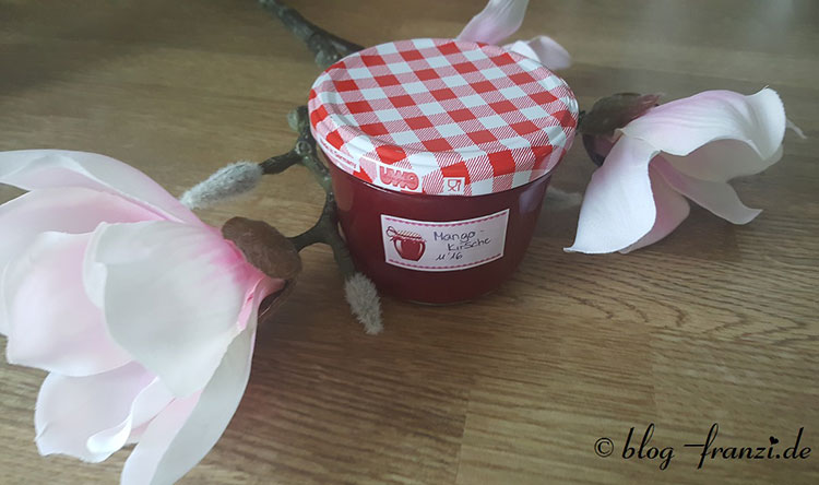 Kirsch-Mango Marmelade
