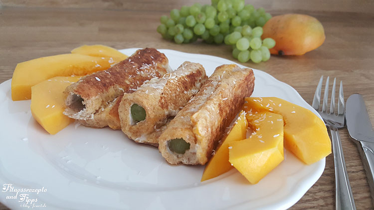 Mango Cheese Rolls – French Rolls – French Toast