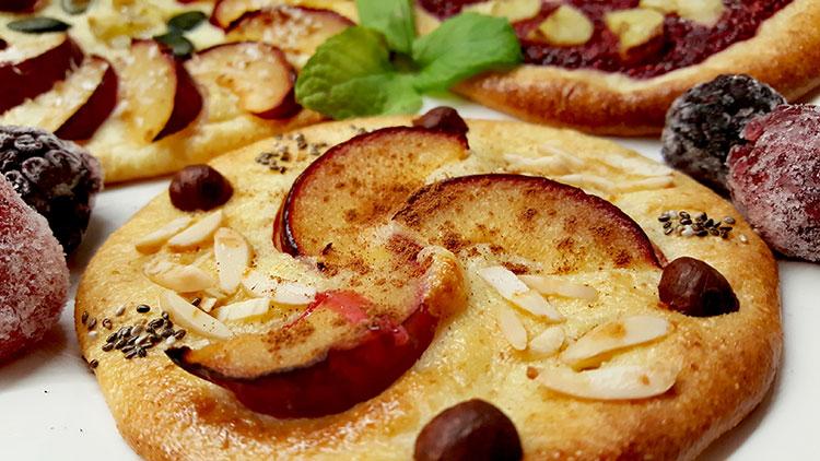 Fruchtige Grieß-Frühstückskuchen