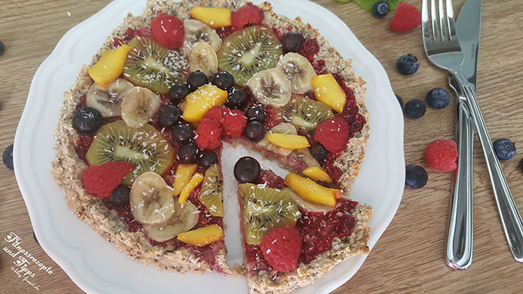 Fruchtige Pizza
