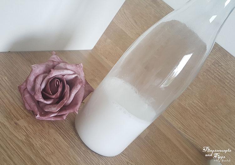 Pflanzenmilch selber machen – leckere Kokosmilch und Mandelmilch – vegane Milch