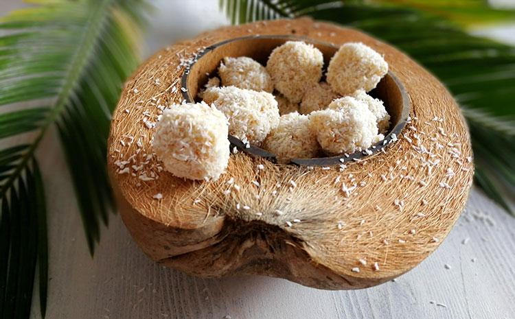 Kokos Quinoa Balls