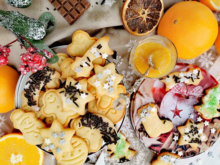 Orangenplätzchen – Weihnachtskekse