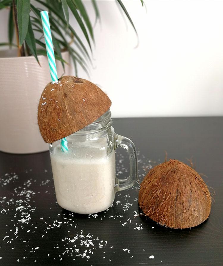 Kokosbananenmilchshake