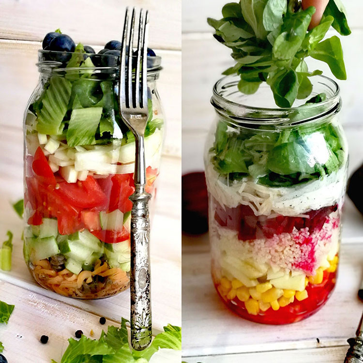 Salat to go – Haltet die Gläser bereit