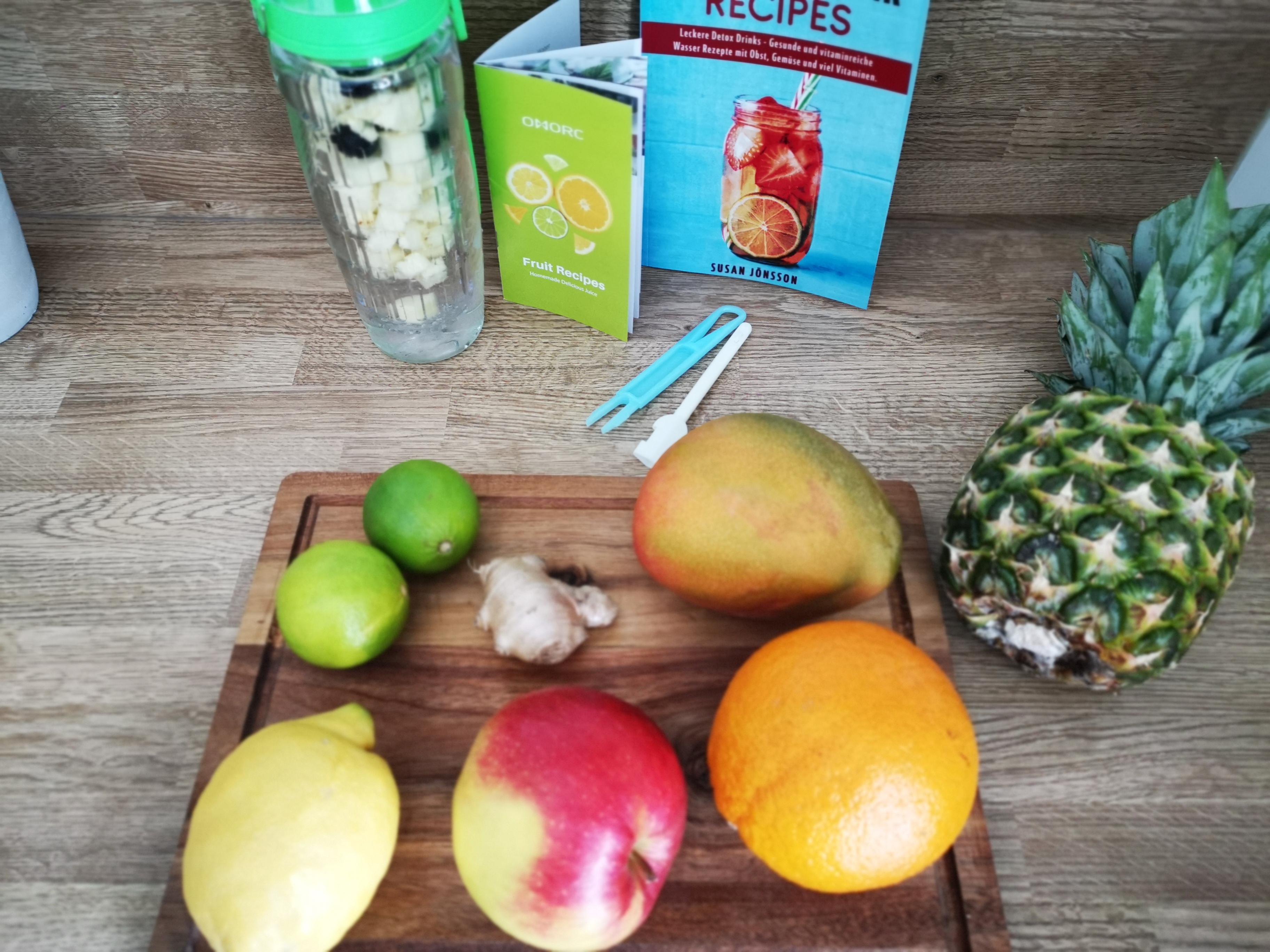 Gewinnspiel mit Hansen Obst / Werbung + 3 Rezeptideen für Infused Water