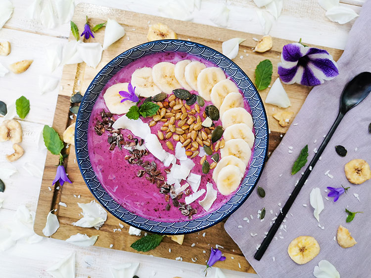 Smoothiebowl Blueberry